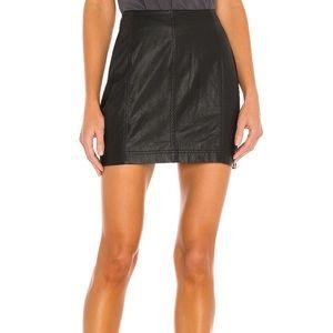 NWT! FP Free People Modern Femme Mini Skirt Size 0